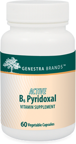 ACTIVE B6 Pyridoxal - 60 Capsules By Genestra Brands