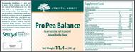 Pro Pea Balance - Vanilla - 11.4 oz By Genestra Brands