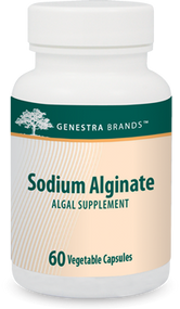 Sodium Alginate - 60 Capsules By Genestra Brands