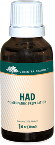 HAD - 1 fl oz By Genestra Brands