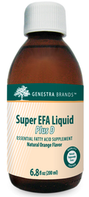 Super EFA Liquid Plus D - 6.8 fl oz By Genestra Brands