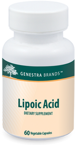 Lipoic Acid - 60 Capsules By Genestra Brands