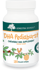 DHA Pediaburst - 180 softgels By Genestra Brands