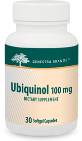 Ubiquinol 100mg - 30 softgels By Genestra Brands