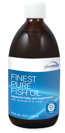 Finest pure fish oil by pharmax orange flavor 16 9 oz 500 for Finest nutrition fish oil