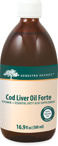 Cod Liver Oil Forte 16.9 fl oz - 16.9 fl oz By Genestra Brands