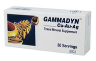 Gammadyn Cu-Au-Ag (tabs) - 30 Tabs By UNDA