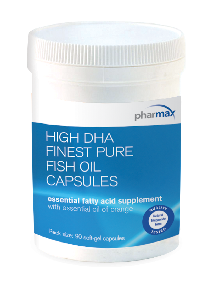 High dha finest pure fish oil capsules 90 capsules by for Pharmax fish oil