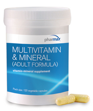 Multivitamin & Mineral (adult formula) -120 - 120 Capsules By Pharmax