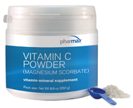 Vitamin C Powder (Magnesium Ascorbate) - 8.8 oz By Pharmax