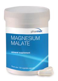 Magnesium Malate - 120 Capsules By Pharmax