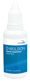D-Mulsion Citrus Flavor - 1 fl oz By Pharmax