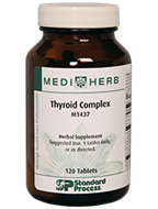 Thyroid Complex from MediHerb 120 Tablets