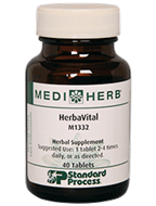 HerbaVital from MediHerb 40 Tablets