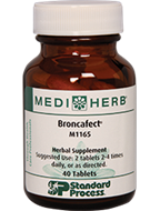 Broncafect from MediHerb 40 Tablets