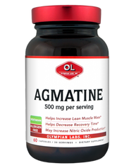 Agmatine Sulfate 500 Mg By Olympian Labs - 60 Capsules