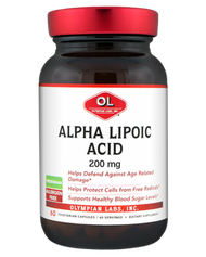 Alpha Lipoic Extra 200 Mg By Olympian Labs - 60 Capsules