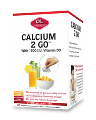 Calcium 2 Go 1000 Mg By Olympian Labs - 30 CT