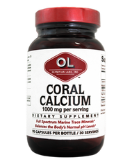 Coral Calcium 1 G By Olympian Labs - 90 CP