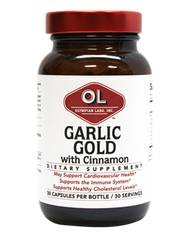Garlic Gold W/Cinnamon  By Olympian Labs - 30 Capsules