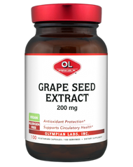 Grape Seed Extract 200 Mg By Olympian Labs - 100 Capsules