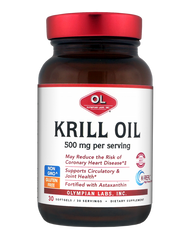 Krill Oil - One A Day 500 Mg By Olympian Labs - 30 SG
