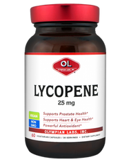 Lycopene 25 250 Mg By Olympian Labs - 60 Capsules