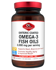 Omega-3 Fish Oil, Enteric 2 G By Olympian Labs - 120 SG