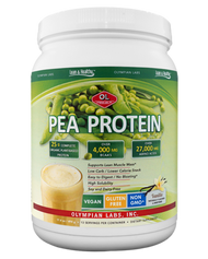 Pea Protein Vanilla Small 25 G By Olympian Labs - 494 GM