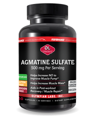 PSN Agmatine Sulfate 500 Mg By Olympian Labs - 60 Capsules