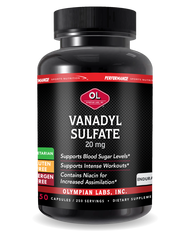 PSN Vanadyl Sulfate 20 Mg By Olympian Labs - 250 Capsules