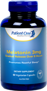 Melatonin 3mg Gradual Release by Patient One