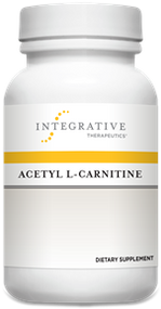 Acetyl L-Carnitine - 60 Veg Capsule By Integrative Therapeutics