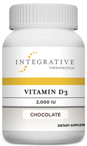 Vitamin D3 2,000 IU - 120 Chewable Tablet By Integrative Therapeutics