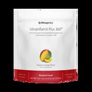 UltraInflamX Plus 360® Medical Food by Metagenics Tropical Mango Flavor (21.72 oz)