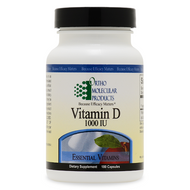 Vitamin D 1,000 IU 180 capsules by Ortho Molecular