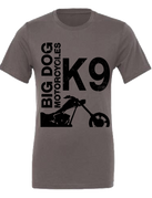 Big Dog Motorcycles K-9 T-Shirt (Gray) - XX-Large