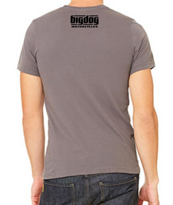 Big Dog Motorcycles K-9 T-Shirt (Gray) - X-Large