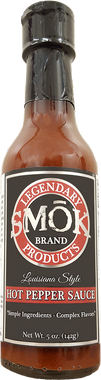 SMŌK Brand Louisiana Style Hot Pepper Sauce (5 oz bottle)