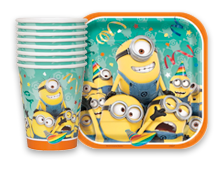 Despicable Me Minions Theme Party Supplies