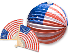 Patriotic and American Theme Party Supplies