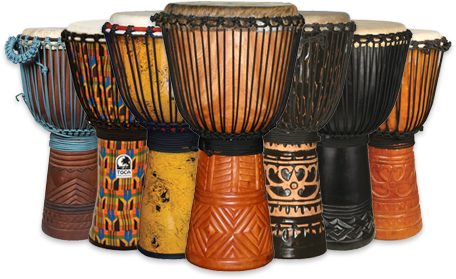 Traditional Djembe Drums