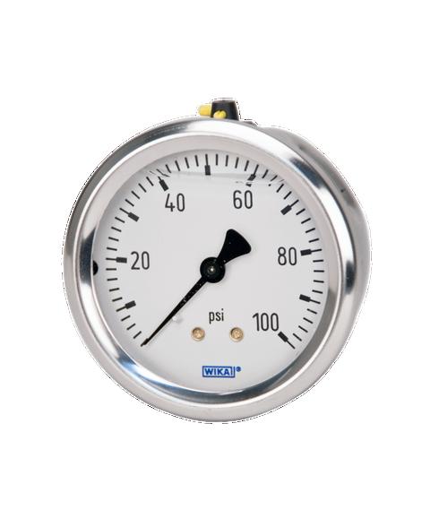 WIKA Type 213.53 Utility Pressure Gauge 0-100 PSI 9767215