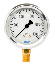 WIKA Type 213.53 Utility Pressure Gauge 0-1000 PSI 9767126