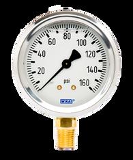 WIKA Type 213.53 Utility Pressure Gauge 0-160 PSI 9767070