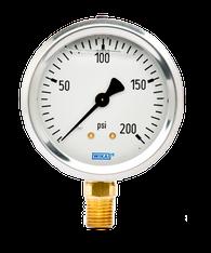 WIKA Type 213.53 Utility Pressure Gauge 0-200 PSI 9767088