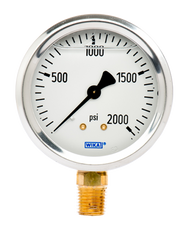 WIKA Type 213.53 Utility Pressure Gauge 0-2000 PSI 9767142