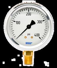 WIKA Type 213.53 Utility Pressure Gauge 0-400 PSI 9767100