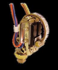 Barksdale Series B2S Bourdon Tube Pressure Switch, Stripped, Dual Setpoint, 240 to 4800 PSI, B2S-C48SS-CS