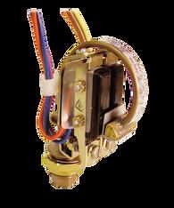 Barksdale Series B2S Bourdon Tube Pressure Switch, Stripped, Dual Setpoint, 160 to 3200 PSI, B2S-M32SS-TC